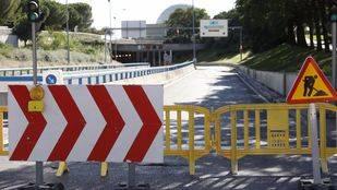 Cerrado el túnel de la avenida del Planetario