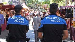 Agentes de la Policía Municipal de Alcorcón. (Archivo)