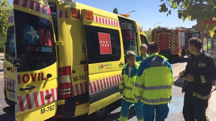 Tres intoxicados en Alcobendas por una sartén en el fuego