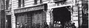 Teatro novedades en la calle Toledo.