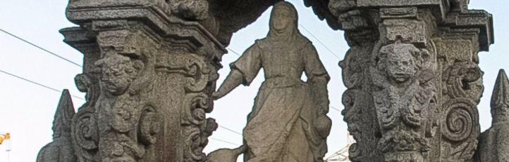 La santa cuyo cráneo casi se vende en El Rastro