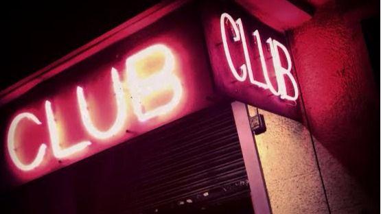 Entreda a un club de alterne de Madrid.