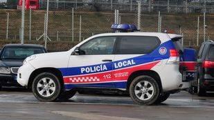 coche de la Policía Local de San Sebastián de los Reyes.