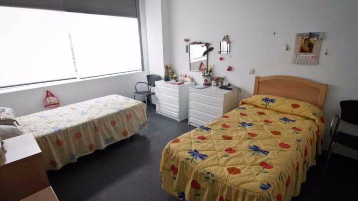 Centro de acogida de personas sin hogar del Ayuntamineto de Madrid 'Juan Luis Vives' en Vicálvaro.