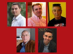 Frisón de los cinco candidatos a liderar el PSOE-M.