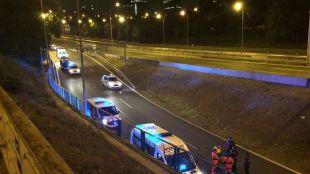 Muere un motorista tras sufrir un accidente en la M-30
