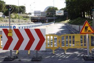 El túnel de la avenida del Planetario, cerrado hasta la semana que viene