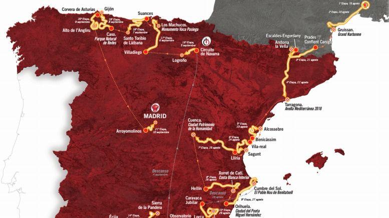 Madrid paraliza el centro para recibir La Vuelta a España