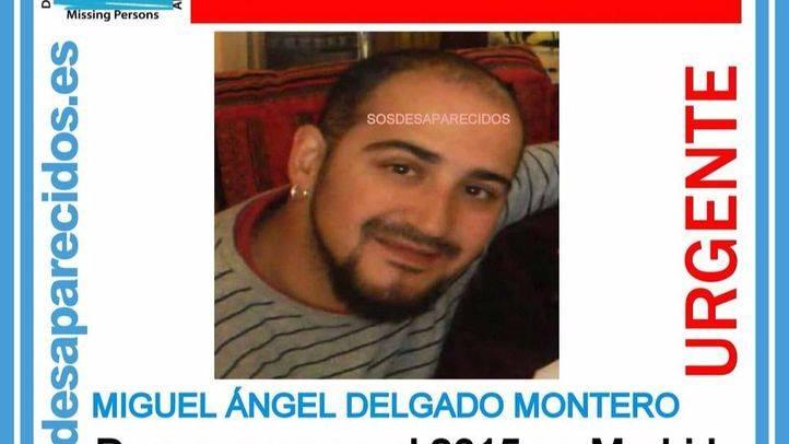 Miguel Ángel Delgado, desaparecido en Madrid en 2015.