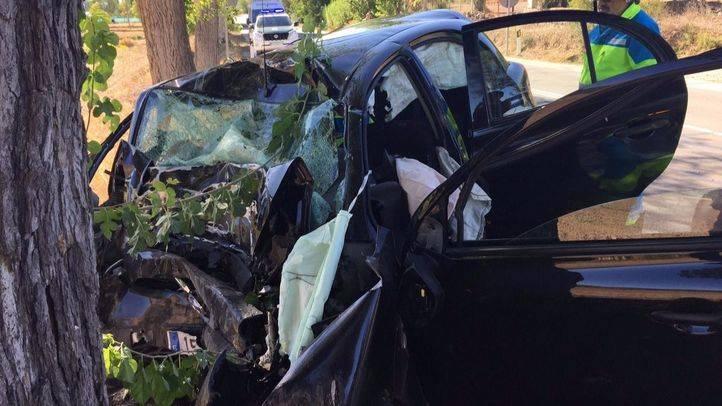 Accidente en Morata de Tajuña.