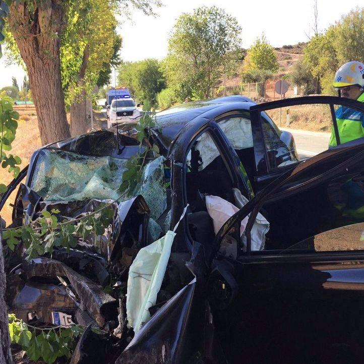 Muere tras salirse de la carretera en Morata de Tajuña