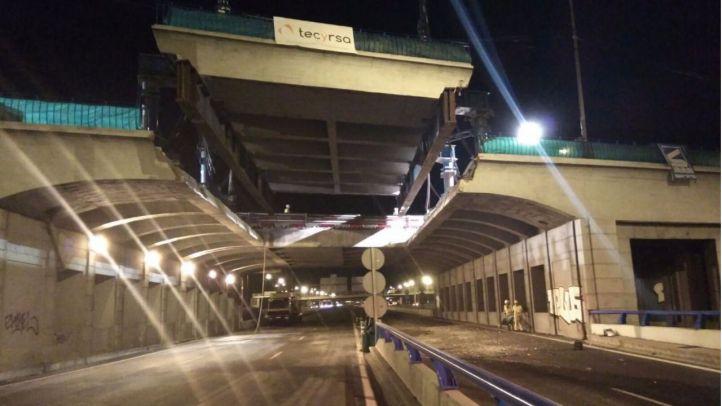 Así se levantó el puente de la avenida del Mediterráneo