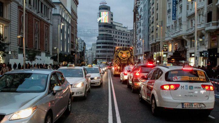 La Gran Vía perderá un carril por sentido en diciembre
