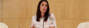 Rita Maestre, en una rueda de prensa. (Archivo)