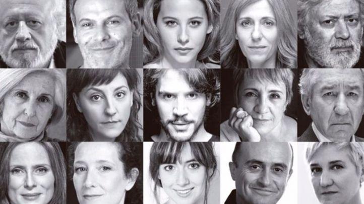 Algunos de los actores que participarán en 'Home' en el Teatro Español