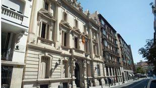 Actual sede de la Real Academia de Medicina en la calle Arrieta.