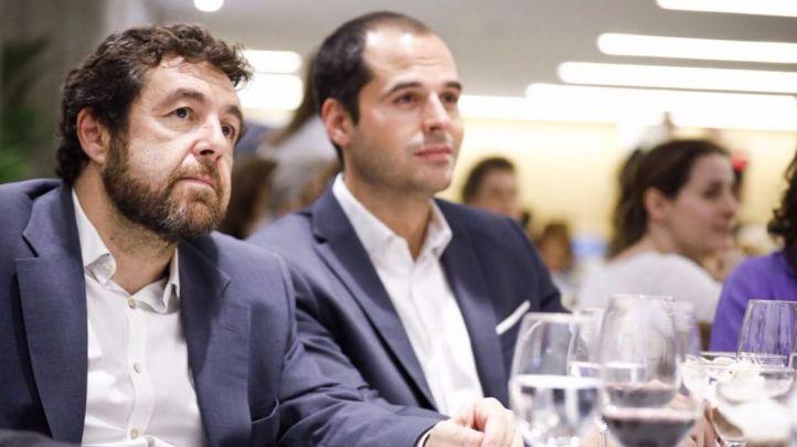 Miguel Gutiérrez, junto a Ignacio Aguado