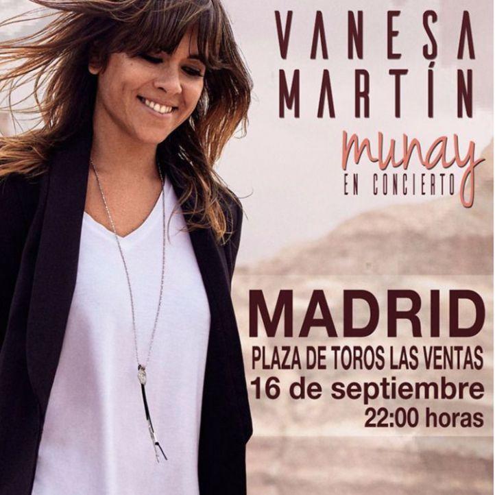 Los afectados del concierto de Vanesa Martín recuperarán su dinero