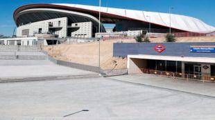 Cómo llegar al Wanda Metropolitano en transporte público