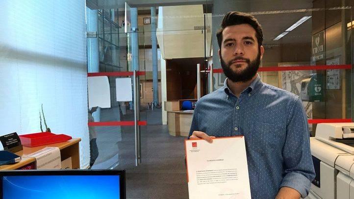César Zafra registra la petición de comparecencia