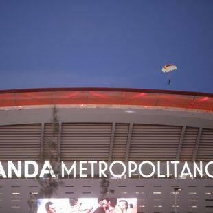Madrid celebra la inauguración del Wanda Metropolitano