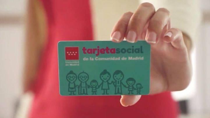 La Tarjeta Social es una de las apuestas estrella del Gobierno de Cristina Cifuentes