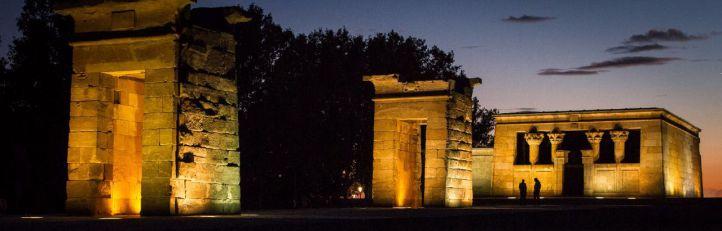 El Templo de Debod vuelve a abrir sus puertas este martes