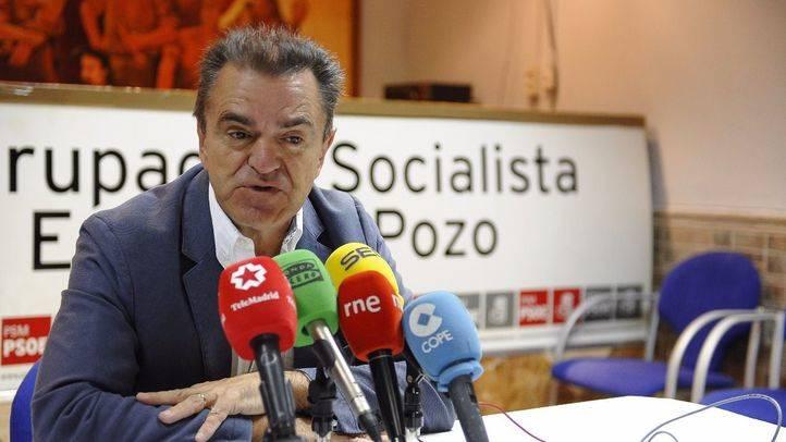 José Manuel Franco durante la presentación de sus propuestas como candidato a dirigir el PSOE-M.
