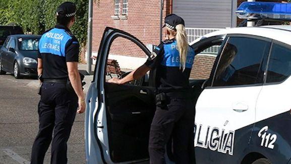 Policía de Leganés.