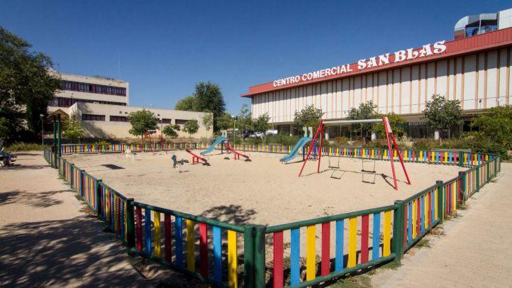 Plaza Cívica del distrito San Blas-Canillejas.