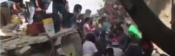 Madrid se vuelca con México para ayudar tras el terremoto