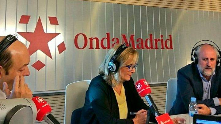 Constantino Mediavilla, Nieves Herrero y Luis Cueto en 'Com.Permiso'