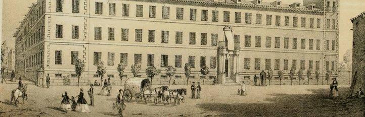 Real Seminario de Nobles, la institución de enseñanza, hospital militar y laboratorio químico que presidió Princesa