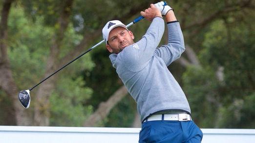 Sergio García en el Andalucía Valderrama Masters