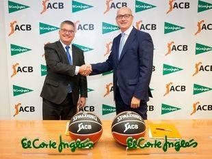 El Corte Inglés se convierte en Patrocinador Oficial de las competiciones ACB para las próximas tres temporadas