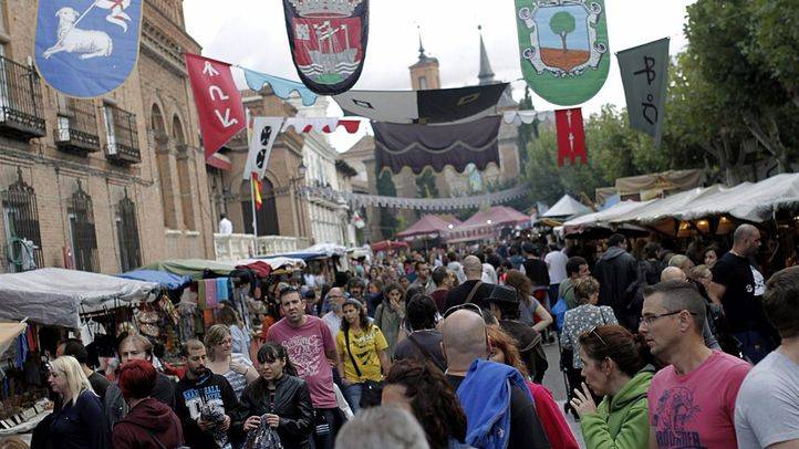 Mercado Cervantino en Alcala de Henares.