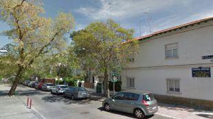 Calle Francisco José Arroyo, en el distrito de Hortaleza.