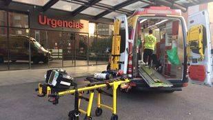 Un hombre, en estado grave tras ser atropellado por un taxi