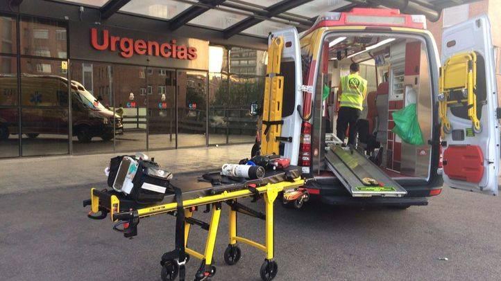 Los equipos de Emergencias Madrid han atendido al hombre atropellado