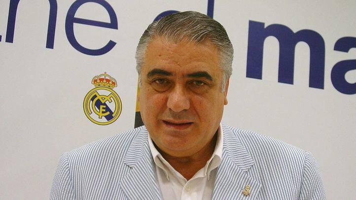 Lorenzo Sanz cuando fue candidato a la presidencia del Real Madrid