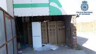 Detenido un hombre por robar 72 frigoríficos