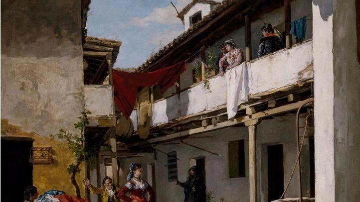 'La casa de Tócame-Roque' de Manuel García 'Hispaleto', pintado sobre 1886.
