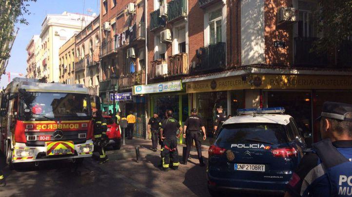 Incendio en la calle Peña Gorvea, 11.