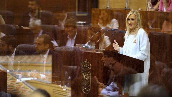 Discurso de réplica de la presidenta de la Comunidad de Madrid, Cristina Cifuentes.