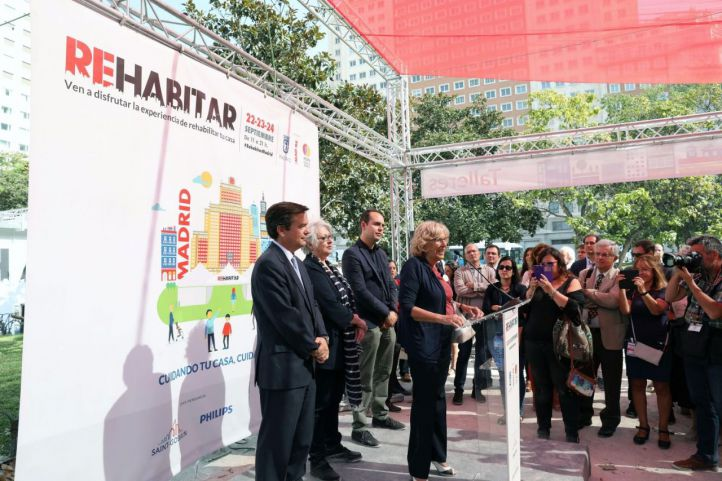 Arranca la feria Rehabitar Madrid 2017