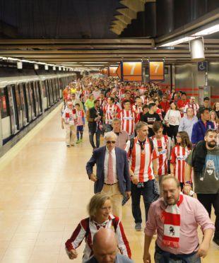El transporte público se prepara para el 2º partido en el Wanda
