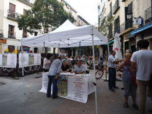 El barrio de Las Letras se concentra contra la turistificación