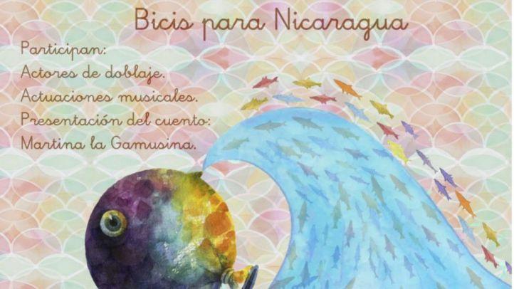 Cartel de la III edición del recital de poesía 'Bicis para Nicaragia'