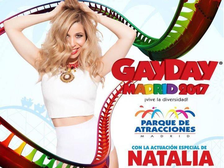 El II GayDay Madrid llega al parque de Atracciones