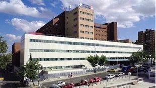 Inician las obras de mejora en el Hospital de Móstoles